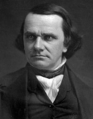 April 23: Stephen A. Douglas
