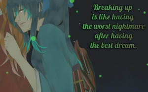 sad anime boy crying with quotes