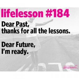 Little Life Lesson #184: The Future