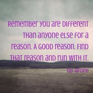Dare to be different! #quotes