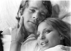 Barbra Streisand with Ryan O'Neal