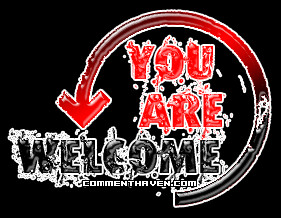 You are Welcome Pictures, Images, Graphics, Comments and Photo Quotes
