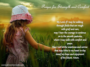 Prayer for Strength and Comfort