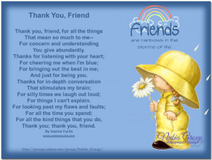 Thank You, Friend