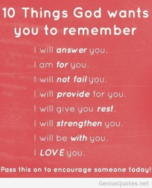Things to remember quote