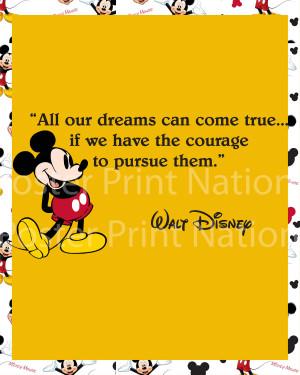 Walt Disney Friendship Quotes Mouse walt disney quote