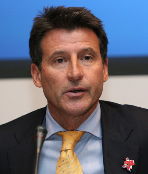 Sebastian Coe Track and Field
