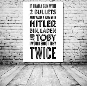 Typography Print The Office Quote TV Quote Michael by paperchat