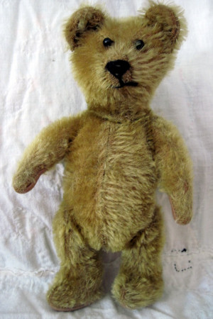 Funny Teddy Bear Funny little british bear