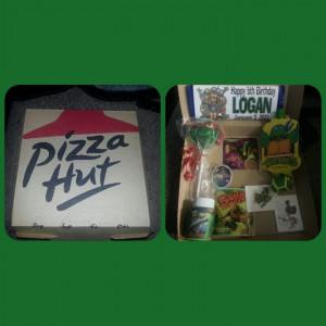 Pizza hut party boxes: Pizza Hut