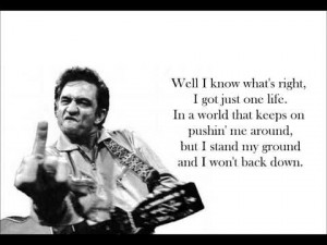 Johnny Cash Doing My 2012