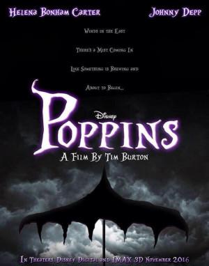 Breaking News/ Rumor Mill: A Tim Burton Poppins?!
