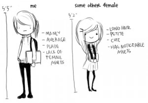 ... , emo, girl, girls, girly, illustration, lol, manly, model and midget