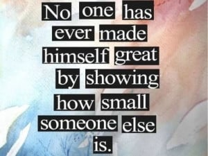 be the bigger person quotes
