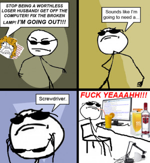ffffuuuu screwdriver rage comic, funny comic