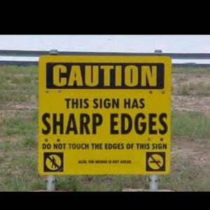 Sharp..heres your sign