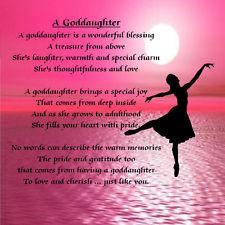 personalised Goddaughter Grandaughter Daughter candle card christening ...