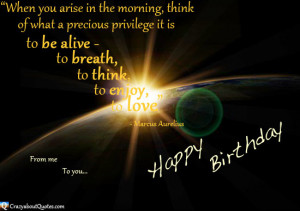 Inspirational Birthday Quotes Pic #22