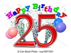 Happy 25Th Birthday 02