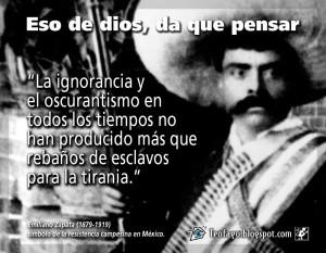 frases de emiliano zapata Emiliano Zapata 300x233