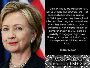 Hillary Clinton quote: