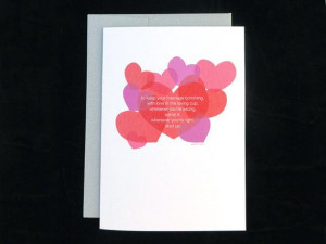 Blank Wedding Card, Ogden Nash Quote