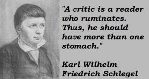 Karl wilhelm friedrich schlegel famous quotes 4