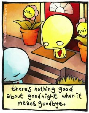 don't say goodbye...