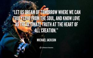 Michael Jackson Quotes About Dreams