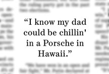 are pinning memorable quotes appearing in The Wall Street Journal ...