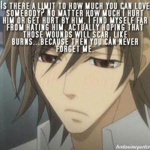 Junjou Romantica (Egoist Pairing) Quote