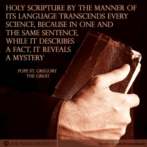 Pope Gregory The Great Quotes Pope st. gregory the great on