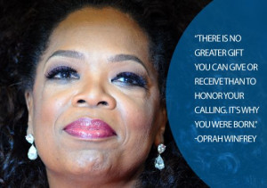 Oprah Winfrey became the first black female host of a nationally ...