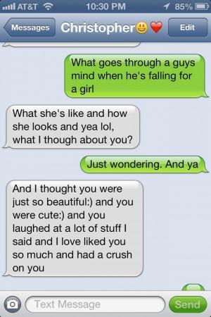 He's so sweet!