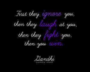 gandhi, inspiration, quote