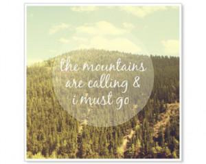 Nature Quotes John Muir