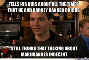 But what the hell was that clown Ted Mosby upto?!?