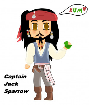 Captain Jack Sparrow Quotes Pirates The Caribbean Fan Art Funny