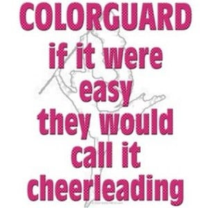 color guard quote/icon clipped by happy sun! :)