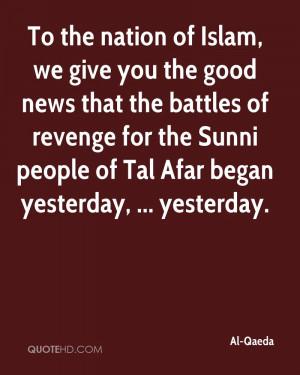 Al-Qaeda Quotes