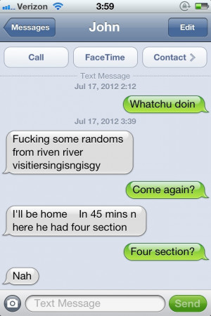 First drunk text that I can make literally nothing from. ( i.imgur.com ...