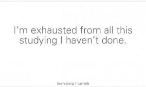school, teens, tumblr, funny, procrastination, study, work, teenagers ...