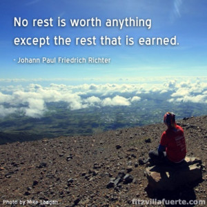 rest should be earned # quotes