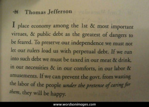 Famous quotes from thomas jefferson