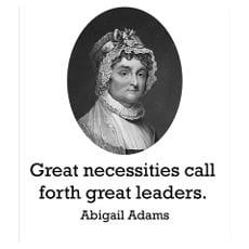 Abigail Adams Quote Posters