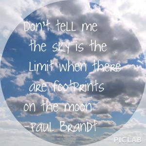 Paul Brandt quote