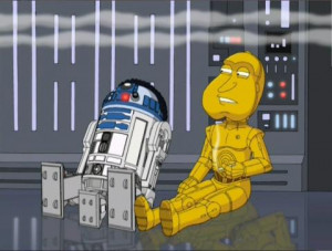 If you have not seen the Family Guy Star Wars Special, you are missing ...