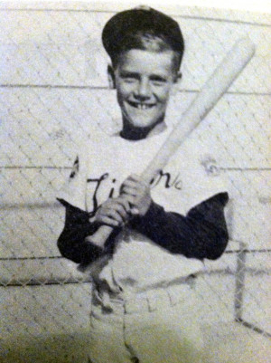 George Brett as a kid.: Kid