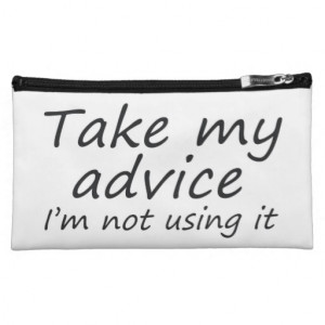 Funny humor quotes gifts cosmetic bags joke gift