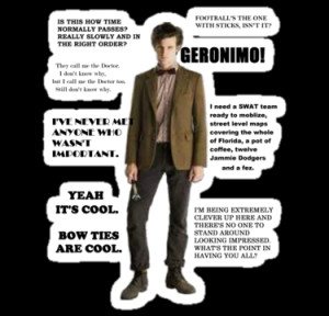 11th doctor quotes